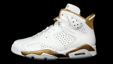 Nike Air Jordan 6 VI Retro White Gold GMP Golden Moments Size 11. 535357-935