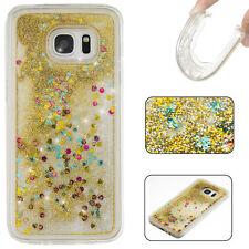 Liquid Glitter Water Stars Bling Sparkly Case Cover For Various Mobile Phones