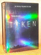 Taken (DVD, 2003, 6-Disc Set) Steven Speilberg TV Series Dakota Fanning scifi NE