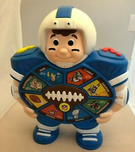 NFL Football CHAMP Talking & Music Toy See & Say Electronic By KidDesigns Rare