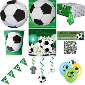 Football Party Decorations Banners Bunting Tableware