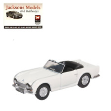 Oxford 76TR4003 Triumph TR4 New White 1:76 Scale