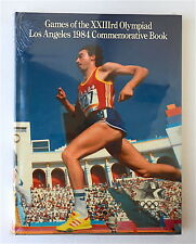 GAMES OF THE XXIIIrd OLYMPIAD LOS ANGELES 1984 COMMEMORATIVE BOOK New Sealed