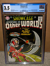 Showcase #17 CGC 3.5 DC 1958 1st Adam Strange! Key Silver Age! K4 114 cm