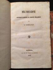 Niccolò Tommaseo: Dell'educazione, osservazioni e saggi pratici, Venezia 1842