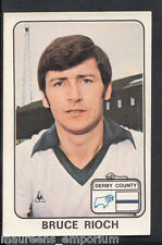 (ZZ) - PANINI 1979 Calcio Sticker N. 135-Derby County-Bruce rioch