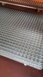 "3X Galvanised Welded Wire Mesh Panels 72"" x 48"" 2"" x 2"" x 2.50mm (183cmx122cm)"