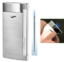 S T Dupont Slim 7 Lighter - Brushed Chrome with Free Engraving