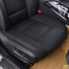 1x Universal PU Leather Car Cover Seat Protector Cushion Seat Front  Cover Black
