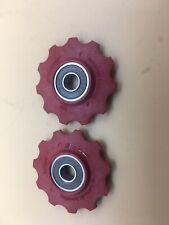 FSA Sealed Ceramic Bearings Derailleur Pulleys Shimano Road 8/9/10 Compatible