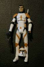 """STAR WARS 3.75"""" Commander Cody figure Clone Wars animated excellent shape"""