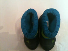 New adidas Outdoor Kids Winterfun Primaloft Shoes Boots Blue Boy 9 10 toddler