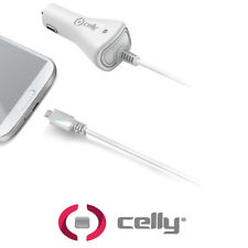 CELLY CARICABATTERIE AUTO MICRO USB CAR CHARGER 1A MICROUSB