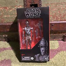 "Star Wars The Mandalorian Black Series IG11 IG-11 6"" inch action figure Hasbro"