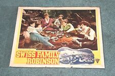"ASTOR PICTURES "" SWISS FAMILY ROBINSON '' movie lobby card"