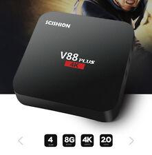 Smart Android 6.0 TV Box HD 4K Rockchip 3229 Quad Core CPU SCISHION V88 Plus