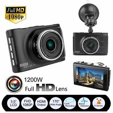 "3"" Full HD 1080P Car DVR CCTV Dash Camera G-sensor Auto-Lock Video Cam Recorder"