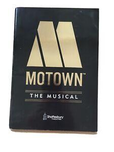 Motown The Musical Shaftesbury Theatre Souvenir Brochure / Programme