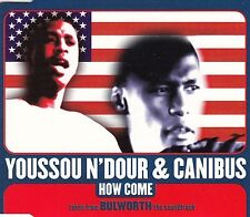 Youssou N'Dour & Canibus Maxi CD How Come - Germany