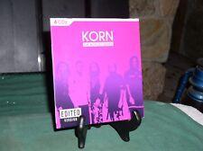 KORN- THE BOX SET SERIES 4 CDs EDITED VERSION {PA}  [ECX ++]