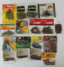 (19) Assortment Mixed Bomber Strike King Other Jigs Lot of 19 Fishing Lures