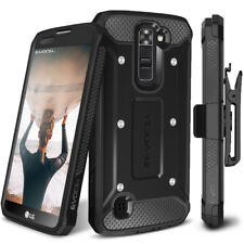 LG Tribute 5 Case, Evocel Explorer Full Body Rugged Case w/ Belt Clip (LG K7)