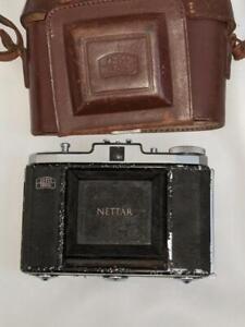 Zeiss Ikon Nettar II 518/16  Folding Camera with Novar-Anastignat 3.5 /75mm Lens