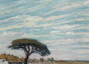 Postkarte: Dorothea Stroschein - Blick auf Neuendorf / 1920 Ostsee