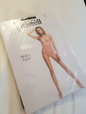 WOLFORD MILEY TIGHTS L, UK 16-18, BLACK, NEW £39