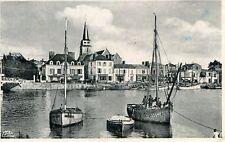 Carte SAINT GILLES CROIX DE VIE Un coin du Port et la plage