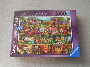 GLORIOUS VINTAGE 1000 piece jigsaw puzzle RAVENSBURGER 2015 Aimee Stewart WINE