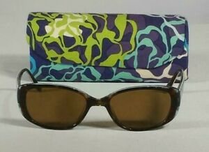 "Vera Bradley ""Katalina Blues"" Sunglasses & soft magnetic case / Pre-Owned"