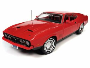 AUTO WORLD JAMES BOND 1971 FORD MUSTANG MACH 1 (DIAMONDS ARE FOREVER) 1:18 SCALE