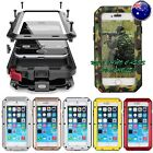 Heavy Duty Shockproof Waterproof Bumper Metal Cover Case iPhone Samsung 5 6 7 8