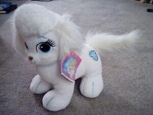 Build A Bear Princess Palace Pets Pumpkin Cinderella's White Dog BAB