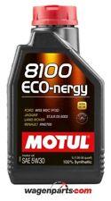 1 litro Motul 8100 Eco-nergy 5w30 aceite de motor Acción