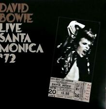 DAVID BOWIE live santa monica '72 (CD album) glam rock