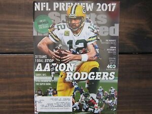 AARON RODGERS NFL PREVIEW Sports Illustrated GREEN BAY PACKERS  9/4/17