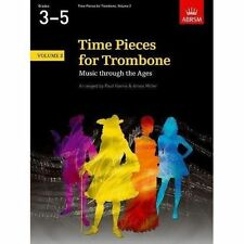 Time Pieces for Trombone Volume 2 Paul Harris and Amos Miller