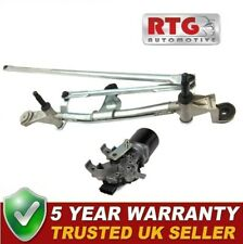 Brand New Front Windscreen Window Wiper Motor + linkage for Renault Clio 2013-20