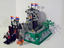 Lego 6081 KINGS MOUNTAIN FORTRESS Crusader Knights Castle Complete w/Instruction