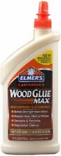 (6) Elmer's E7310 16 oz Stainable Waterproof Carpenters Indoor/Outdoor Wood Glue