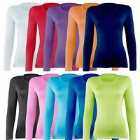 Ladies Rhino Compression Baselayer Long Sleeve Thermal Top RH003