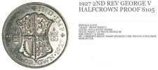 1927 PROOF GEORGE V HALF CROWN MINT CONDITION COIN S105