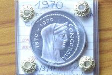 REPUBBLICA ITALIANA 1000 LIRE 1970 CONCORDIA sigillata FDC SUBALPINA