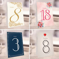 Personalised Wedding Table Numbers / Table Names - 40+ Designs - KW1