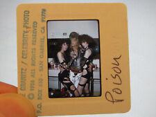 Original Press Promo Slide Negative - Poison - 1986 - B