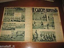 IL CALCIO ILLUSTRATO 1947/38=INTER MODENA 1-1=MILAN LAZIO 2-1=