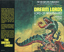 Adrian Cole-The Dream Lords #2-Lord of Nightmares-Zebra Books 1st Printing