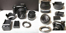 Olympus EVOLT E-330 7.5 MP Digital SLR Camera - Kit - Body, Lenses, adapter, etc